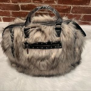 Handbags - Faux Fur Bag huge